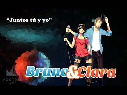 [VOCALOID3] Juntos Tú y Yo [Bruno & Clara] [Spanish] [スペイン語 ボカロ] [New], Video with new design Characters http://www.voctro-vocaloid.com http://www.facebook.com/VocaloidBrunoClara Bruno y Clara ya están disponibles en nuestra TIEN...
