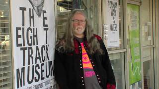 THE EIGHT TRACK MUSEUM GUIDED TOUR WITH BUCKS BURNETT view on youtube.com tube online.