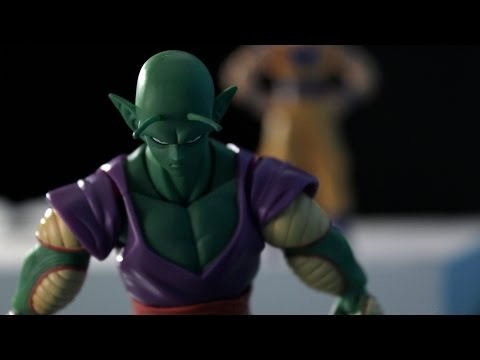 Dragon Ball Z   Stop Motion   Son Goku vs Piccolo