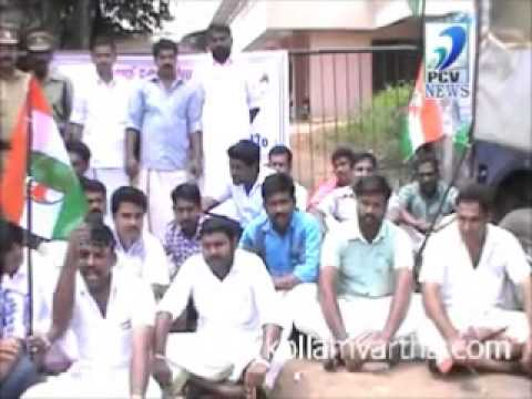 YOUTH CONGRESS Funniest march inganeyokkey cheyyammo kanninettum kondaalo
