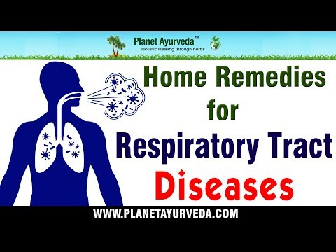 Home Remedies for Respiratory Tract Diseases