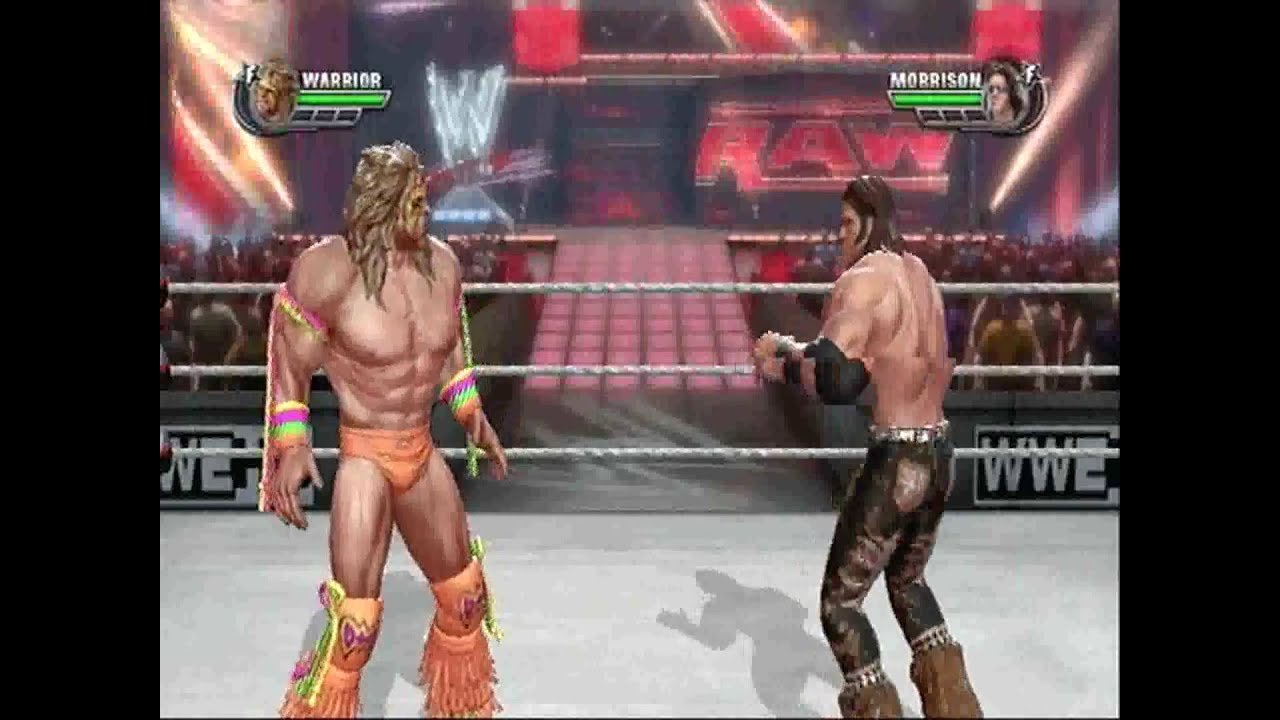 Ultimate Backyard Warrior :  Playstation 3  PS3) The Ultimate Warrior vs John Morrison  YouTube