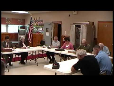 Altona Town Board Meeting 5-14-12