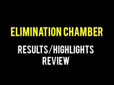 WWE Elimination Chamber 2014 Full Show Results/Highlights & Review, Randy Orton Retains!