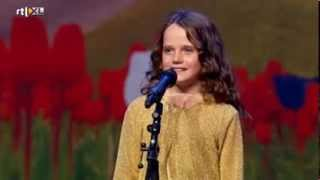 Holland's Got Talent Amira (9) Sings Opera O Mio Babbino