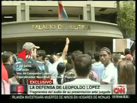 Audio de Leopoldo López en la Audiencia Preliminar