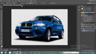 как да пуснем фаровете на кола с фотошоп CS6