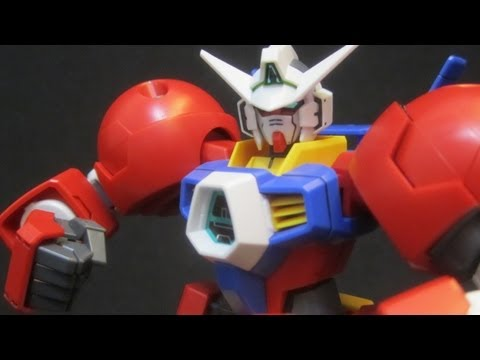 HG Gundam AGE-1 Titus (Part 3: MS) Gundam Age gunpla model review