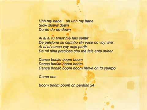 Danca bonito   Narcotic Sound ft Christian D lyrics