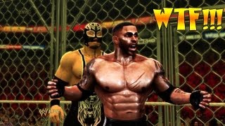 BIGGEST GLITCH CHEATER OF ALL TIME WWE 13 Blade Vs A