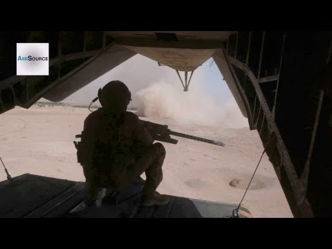 Joint Interdiction Operation In Afghanistan - CH-53E Helicopter Door Gunner | AiirSource