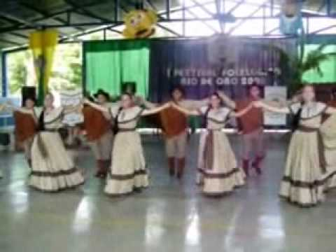 Festival Bailes Folkloricos Rio Oro-Costa Rica