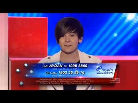 Aydan - Australia's Got Talent 2013 - The Semi-Finals [FULL]