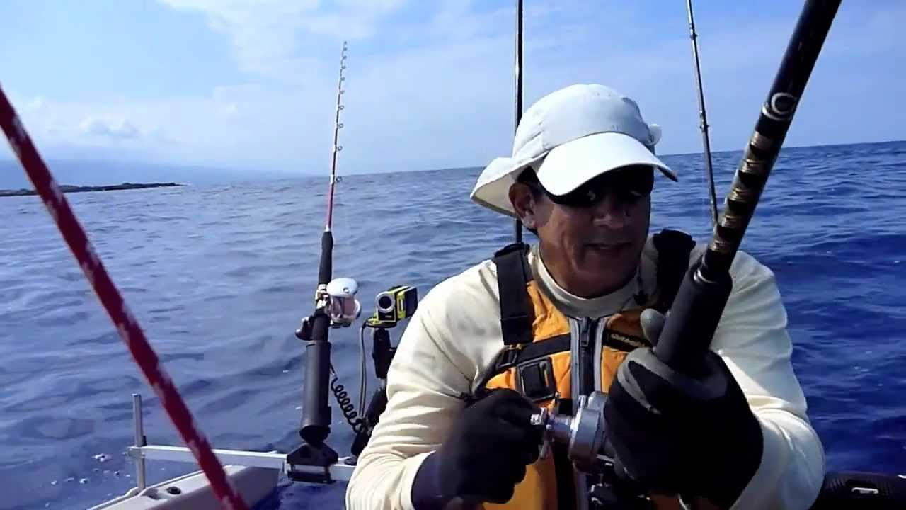 Kayak fishing hawaii positive affirmation youtube for Kayak fishing hawaii