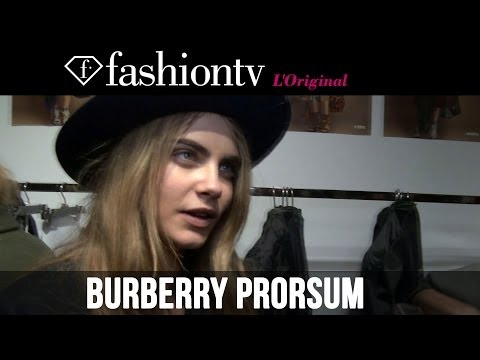 Cara Delevingne at Burberry Fall/Winter 2014-15 After the Show | Paris Fashion Week | FashionTV