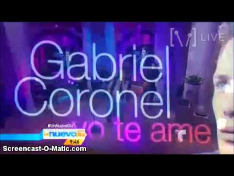 Yo te amé Un nuevo día Gabriel Coronel