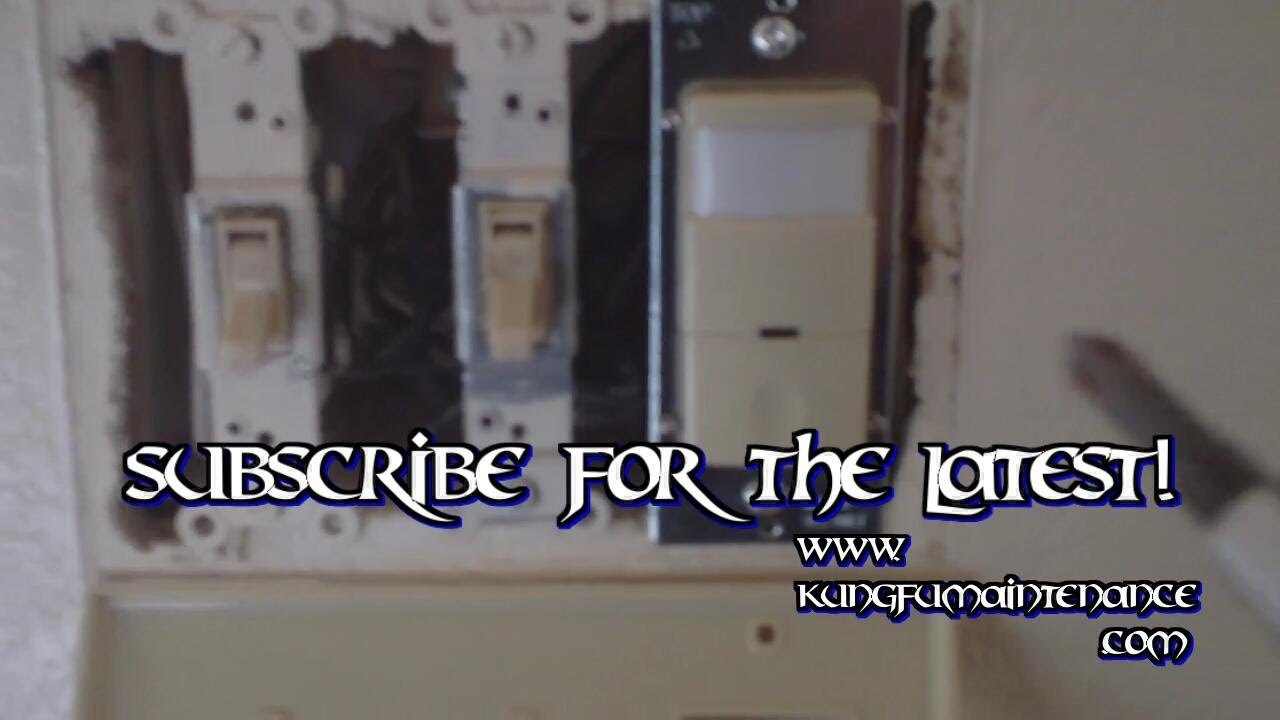 how to replace a broken ceiling fan wall light switch youtube. Black Bedroom Furniture Sets. Home Design Ideas