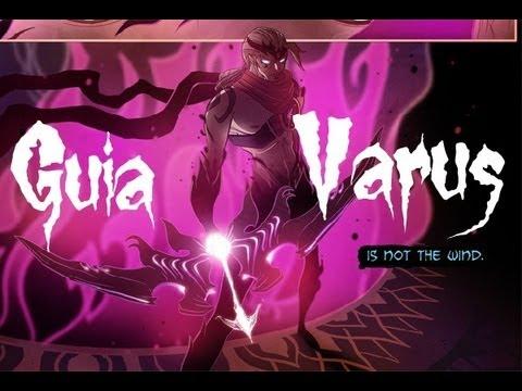 League of legends Guia de Varus S3