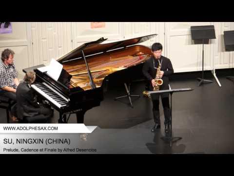 Dinant 2014 SU Ningxin Prelude, Cadence et Finale by Alfred Desenclos