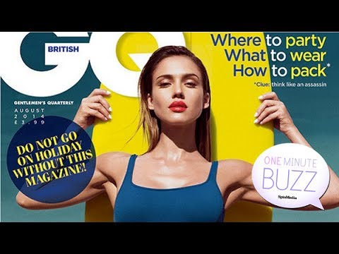 Jessica Alba feels 'more saucy' in this week's One Minute Buzz