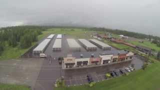 Foul Weather Flying with the Hexakopter at the Quadrocopter Shop