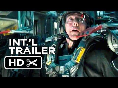 Edge of Tomorrow Official International Trailer #1 (2014) - Tom Cruise Movie HD