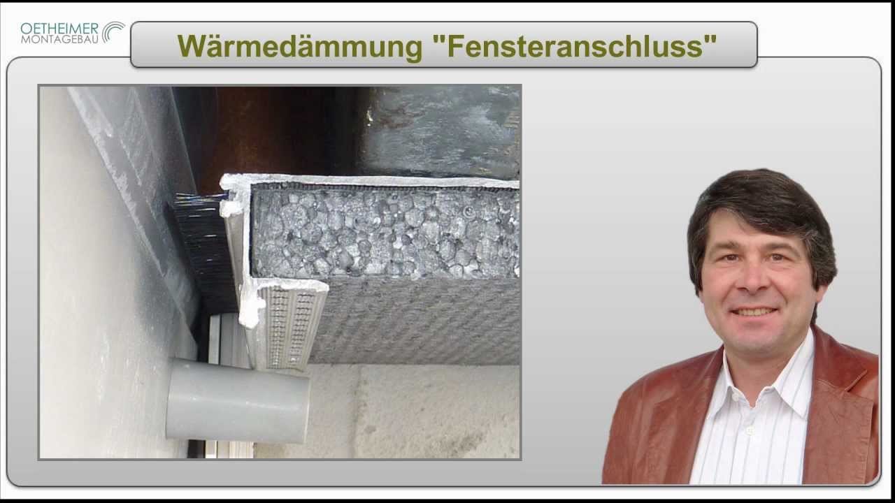 w rmed mmung fensteranschluss youtube. Black Bedroom Furniture Sets. Home Design Ideas