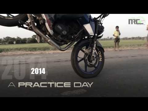 PULSAR 200NS STUNTS ( A PRACTICE DAY )