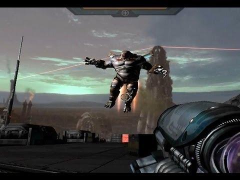 Quake 4: All boss fights + ending