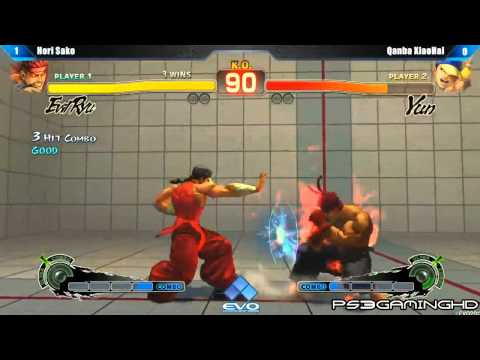 EVO 2K13: SSF4 AE Sako (Evil Ryu) vs XiaoHai (Yun) [HD]