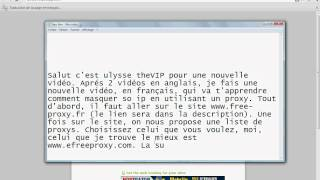 Comment Cacher Son Adresse IP Gratuitement