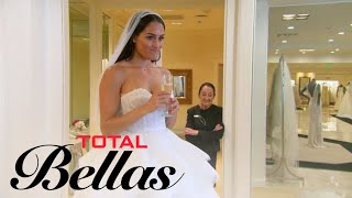 Nikki Bella Doesn't Feel Right Trying on Wedding Dresses | Total Bellas | E!