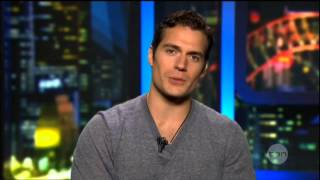 Henry Cavill Interview On The Project (2013) Man Of