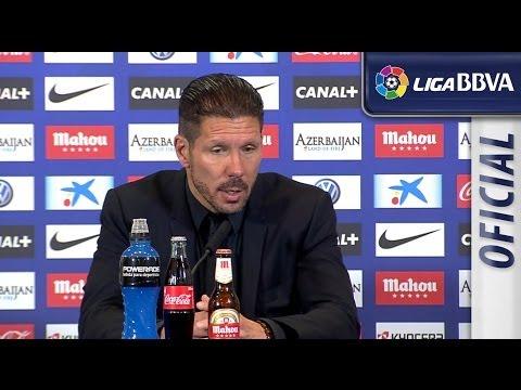 Rueda de Prensa de Simeone tras el Atlético de Madrid (1-0) Villarreal CF - HD