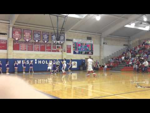 West Holmes JV wins game over Triway at the buzzer
