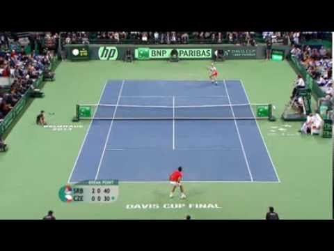 Highlights - Novak Djokovic (SRB) v Tomas Berdych (CZE)