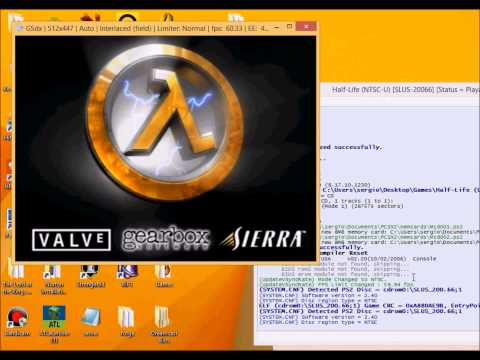 Tutorial on Using pcsx2 1.2.1 (ps2 emulator) half life