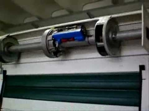 Motore elettrico per serranda garage