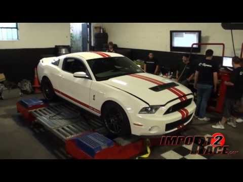 Modified FORD SHELBY GT500 Dyno