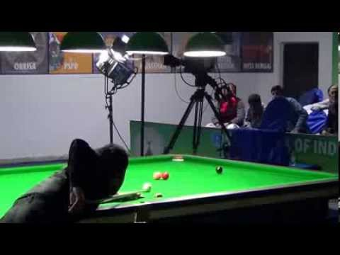 Pankaj Advani's break of 139 in Championship Winning Frame
