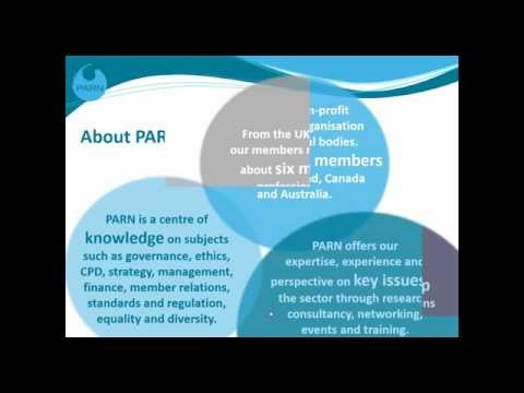 Webinar: Why join PARN? New Digital Membership Offer