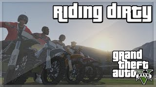 GTA V - 'Riding Dirty' w/ Behzinga, Miniminter, Vikkstar, Zerkaa & KSI