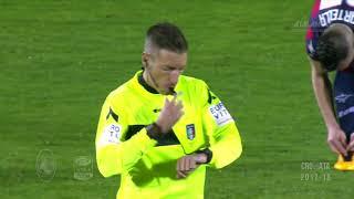 Crotone-Atalanta 1-1 - 24^ giornata - Serie A TIM 2017/2018 - Highlights