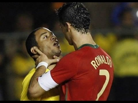Cristiano Ronaldo - Most Hated Player - Best Fights