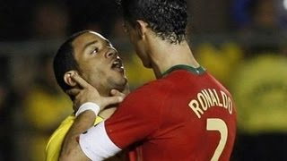 Cristiano Ronaldo - Love him or hate him - Best Fights