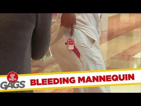 Bleeding Mannequin