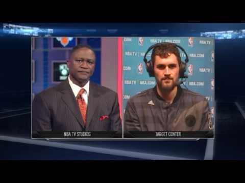 Kevin Love: Postgame | Wizards vs Timberwolves | December 27, 2013 | NBA 2013-14 Season