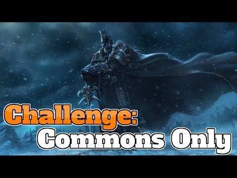 Challenge #1 | Only Common Cards | Budget Zoo Warlock Deck | Hearthstone | Witchwood