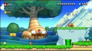 New Super Mario Bros. U Playthrough Part 1