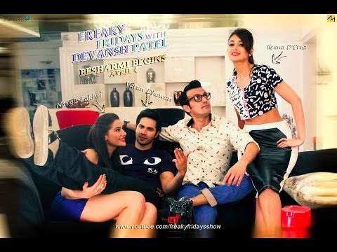 Exclusive Interview | Varun Dhawan | Nargis Fakhri | Ileana D'cruz On Freaky Fridays